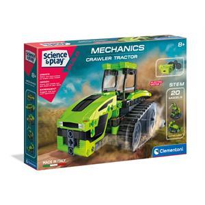 Clementoni Mekanik Laboratuvarı - Çiftlik Traktörü