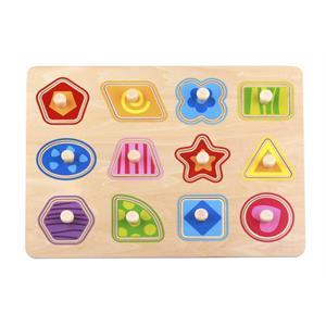 Tooky Toy Ahşap Şekiller Puzzle