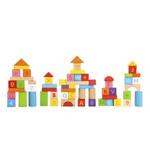 Tooky Toy Ahşap Blok 70 Parça