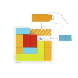 Tooky Toy Ahşap Tetris Oyunu