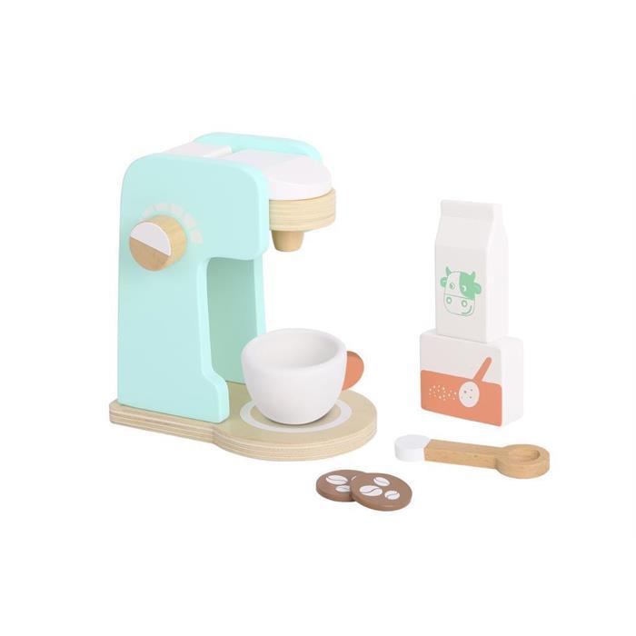 Tooky Toy Ahşap Kahve Makinesi