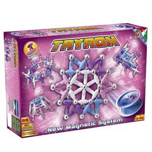 Plastwood Tryron 69 Parça Manyetik Lego Çubuk