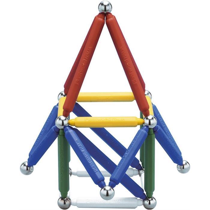 Plastwood Tryron 50 Parça Manyetik Lego Çubuk