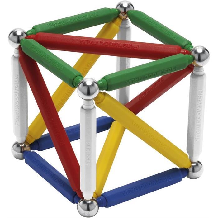 Plastwood Tryron 175 Parça Manyetik Lego Çubuk