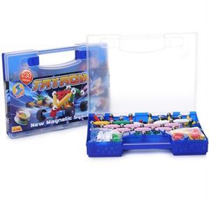 Plastwood Tryron 230 Parça Manyetik Lego Çubuk