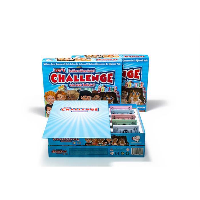 Çocuk Kalbi Let's Challenge Junior - İngilizce Kutu Oyunu