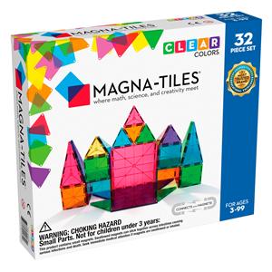 Magna Tiles Clear Color 32 Parça