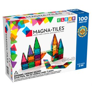 Magna Tiles Clear Color 100 Parça