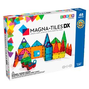 Magna Tiles Clear Color 48 Parça