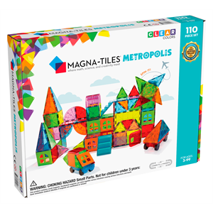 Magna Tiles Metropolis 110 Parçalı Set