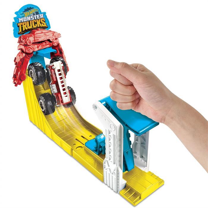 Hot Wheels Monster Trucks Gökyüzüne Sıçrayış Oyun Seti