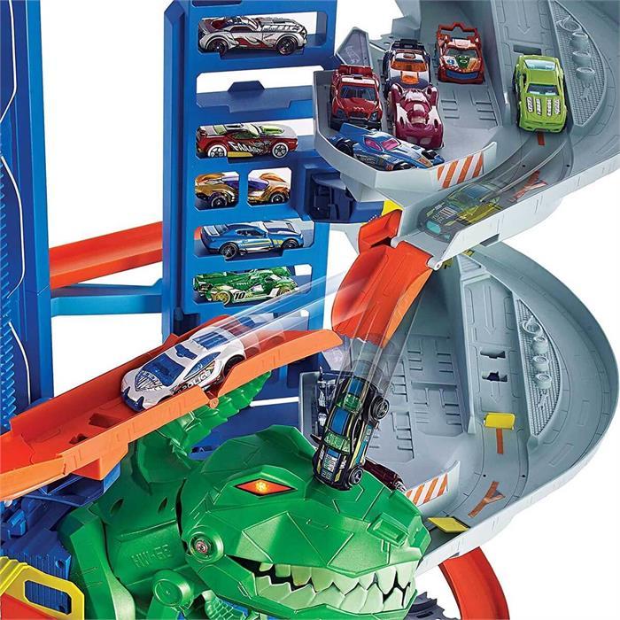 Hot Wheels Robotik T-Rex Ultimate Garaj