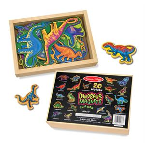 Melissa and Doug Ahşap Mıknatıslı Dinozorlar