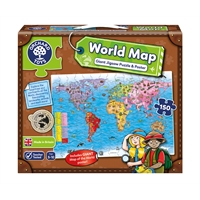 Orchard Dev Dünya Haritası (World Map Puzzle And Poster)