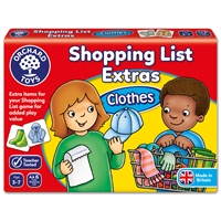 Orchard Shopping List Clothes