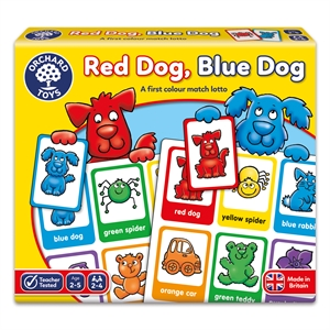 Orchard Kırmızı Köpek, Mavi Köpek Tombala (Red Dog Blue Dog)