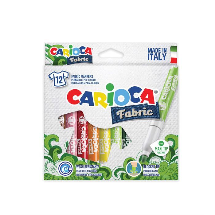 Carioca Cromatex Kumaş Boyama 12'li